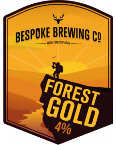 Bespoke Brew Forest Gold 4% 500ml