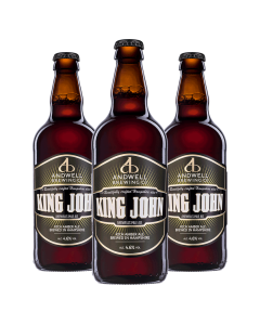 Andwell King John Amber Ale 500ml 4.6%