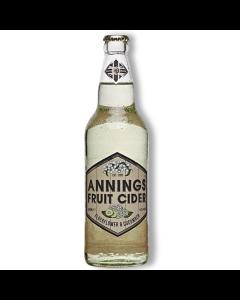Annings Fruit Cider Elderflower & Cucumber 500ml 4%