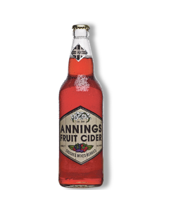 Annings Fruit Cider Mixed Berry 500ml 4%