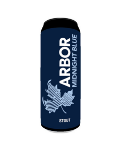 Arbor Midnight Blue Milk Stout 568ml 5.8%