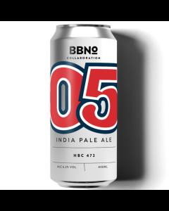 BBNO 05 IPA HBC 472 44cl 6.2%