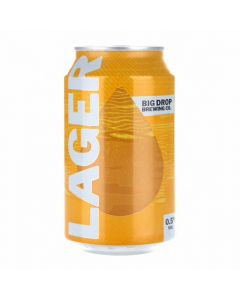 Big Drop Lager 0.5% 330ml can