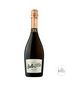Belle & Co Sparkling Rose Alcohol Free Wine
