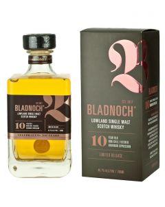 Bladnoch 10 Year Old Single Malt Whisky
