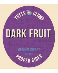 Tutts Clump Dark fruits Cider 500ml 4%