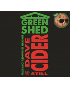 Green Shed Dave Cider 500ml 5.4%