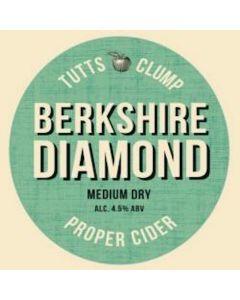 Tutts Clump Berkshire Diamond Cider 4.5% 500ml