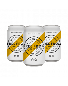 Andwell Free From Lager 4.8% 330ml can