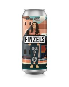 Gipsy Hill x Left Handed Giant Finzels Sour IPA 440ml can