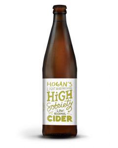 Hogans High Sobriety low alcohol cider 500ml 1%
