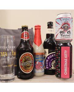 Inn At Home Christmas Beer Gift Bag