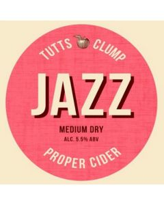Tutts Clump Jazz cider 500ml