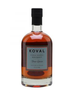 Koval Four Grain Single Barrel American Whiskey 50cl 47%