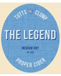 Tutts Clump Legend Cider 500ml 5%