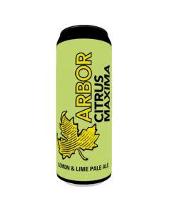 Arbor Citrus Maxima Lemon & Lime Pale 568ml 4%
