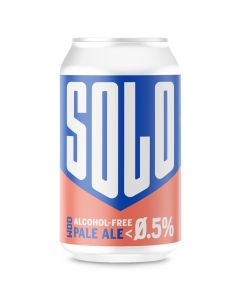 West Berkshire Brewery Solo 0.5% pale ale 330ml can