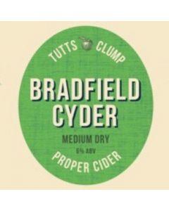 Tutts Clump Bradfield Cyder 500ml 6%