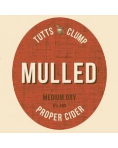 Tutts Clump Mulled Cider 500ml 6%