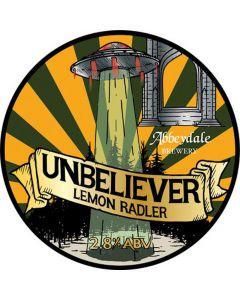 Abbeydale Unbeliever Lemon Radler 440ml 2.8%